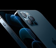 Foto del iPhone 12 Pro que muestra el módulo de cámaras.