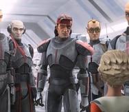 """La serie de animación """"The Bad Batch"""", de Dave Filoni, creador de """"The Clone Wars"""", cuenta la historia de la conocida como """"la Fuerza Clon 99""""."""