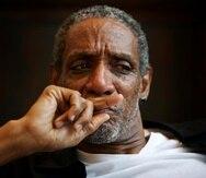 En esta fotografía del 2 de julio de 2008 el actor Thomas Jefferson Byrd durante una sesión de retratos en Atlanta. Byrd, famoso por sus papeles en múltiples películas de Spike Lee y quien fue nominado a un premio Tony en 2003 fue asesinado a tiros en Atlanta el 3 de octubre de 2020. Tenía 70 años. (Marcus Yam/Atlanta Journal-Constitution via AP)