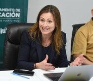 Keleher indicó que el próximo año fiscal solicitará más fondos para Educación Ocupacional.