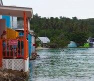 2 de septiembre del 2021Cabo Rojo,Puerto RicoIm‡genes para proyecto especial sobre las situaci—n actual de las costas en Puerto Rico ante la amenaza de la construcci—n desmedida, el calentamiento global y la necesidad de un nuevo ordenamiento jur'dico en el litoral.En la foto, construcciones de propiedades en el ‡rea de la playa de BuyŽ.  Es visible el impacto de las construcciones sobre el mangle y el poco acceso a la costa.Teresa Canino Rivera/STAFFteresa.canino@gfrmedia.com