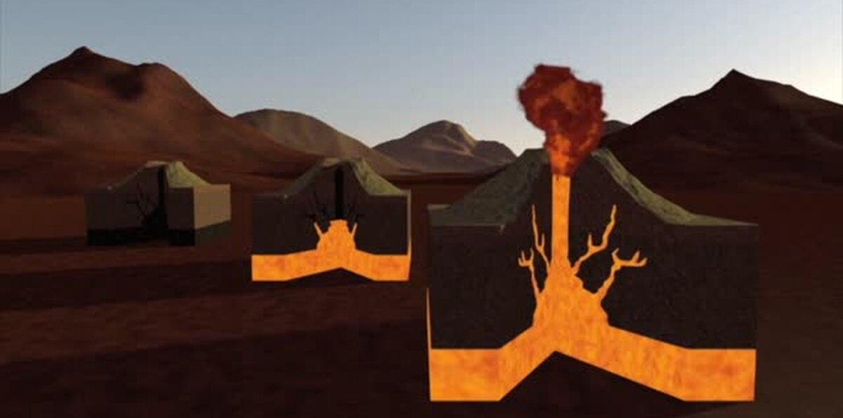 Vídeo animado: ¿Cómo ocurre la erupción de un volcán?
