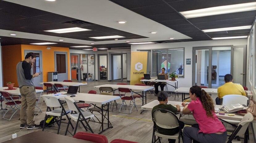 El espacio de cotrabajo está ubicado en el anexo del Departamento del Trabajo y Recursos Humanos en Ponce. (Suministrada)