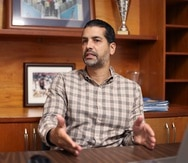 Ricardo Dalmau, presidente del BSN, no quiso reaccionar a la renuncia de los integrantes del comité médico de la liga.