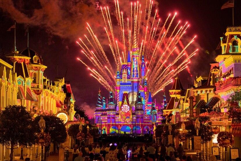 """""""Disney Enchantment"""" en Magic Kingdom es un espectáculo  hermoso que no te debes perder."""