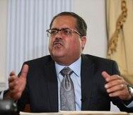 El presidente del Senado, José Luis Dalmau.