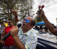 El ministerio público intenta demostrar el delito de escalamiento que le imputa al excandidato a la gobernación Eliezer Molina Pérez (arriba), así como a Jeremy Vélez Rosario y Miguel Luna Ríos en una vista preliminar en alzada que tendrá continuación el 26 de agosto.