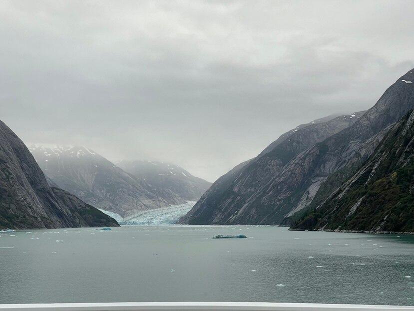 Cruce escénico por glaciar Dawes. (Gregorio Mayí / Especial para GFR Media)