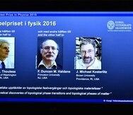 Los científicos David Thouless, Duncan Haldane y Michael Kosterlitz ganaron hoy el Nobel de Física.
