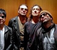 A pesar de las promesas de nueva música de la agrupación Maná, Fher Olvera (segundo de izquierda a derecha) aclara que no les interesa entrar al ritmo frenético de lanzamientos que predomina en la industria actual.