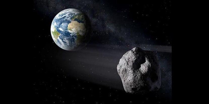 No hay ningún asteroide peligroso cuya trayectoria represente riesgo de impacto a nuestro planeta, indicó la SAC. (Ilustración / SAC)