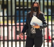Durante el caso, la fiscalía federal vinculó los depósitos en efectivo en las cuentas de Marielis Falcón Nieves (en la foto) y su hermana Ivonne Falcón Nieves con los pagos que un contratista alegó que pagó por extorsión.