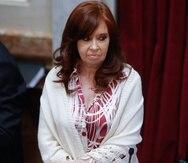 Cristina Fernández, vicepresidenta del Argentina. (AP)