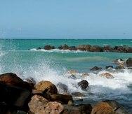Playa de Isla Verde en Carolina.