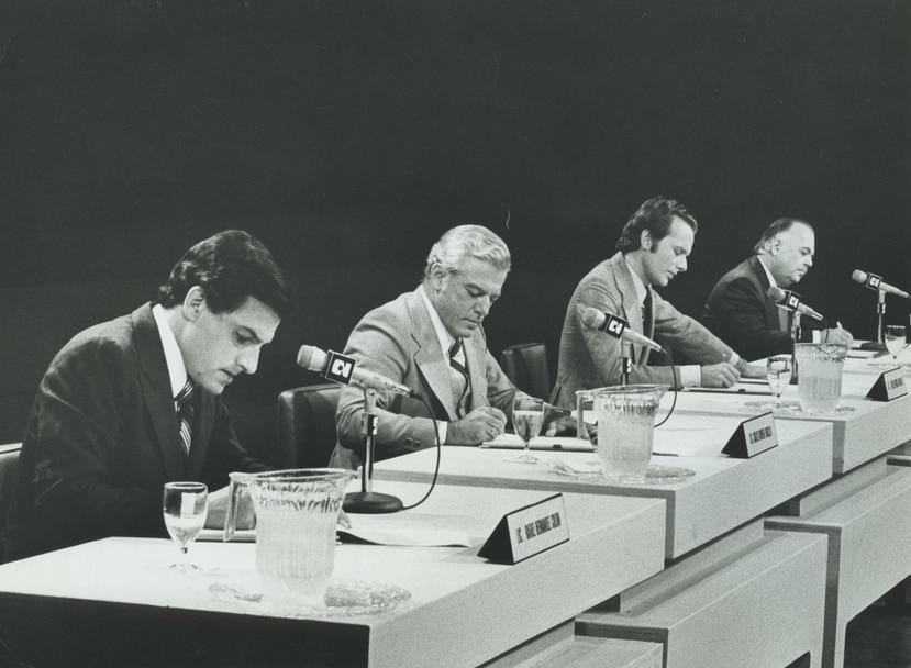 Los ex gobernadores Rafael Hernández Colón y Carlos Romero Barceló, junto al líder independentista Rubén Berríos Martínez, protagonizaron históricos  encuentros en defensa de sus postulados.