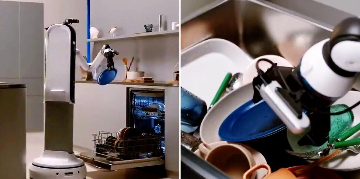 Samsung muestra nuevo prototipo de robot para el hogar