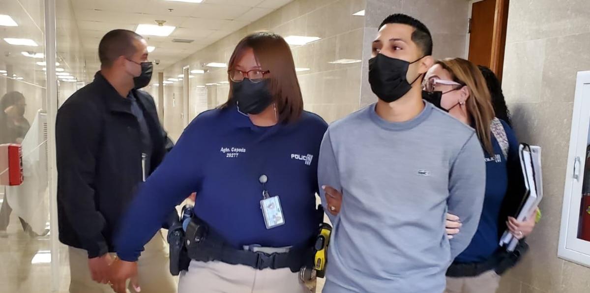 Jensen Medina: así lo arrestaron al no prestar nueva fianza