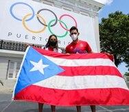 Los tenismesistas Adriana Díaz y Brian Afanador son los abanderados de Puerto Rico para las Olimpiadas de Tokio 2020.