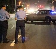 Los hechos se registraron a eso de las 7:19 de la noche de ayer, sábado, frente a una pizzería en la carretera PR-172 en Caguas.