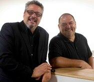 Carlos Esteban Fonseca y Junior Alvarez provocan una reflexión humorística.