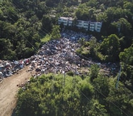 El municipio de Aguas Buenas acumuló escombros por cinco meses sin permiso del DRNA