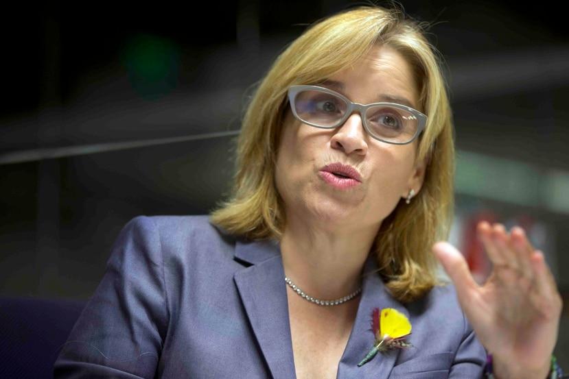 La alcaldesa de San Juan, Carmen Yulín Cruz.  (Archivo / GFR Media)