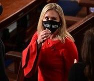 La legisladora Marjorie Taylor Greene.