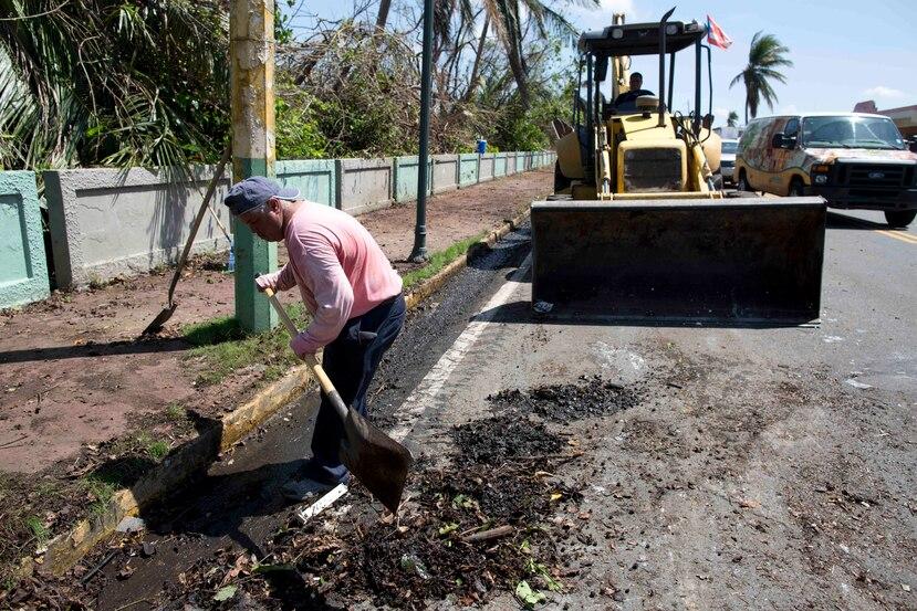 Los empleados municipales no discriminaban; se cargaban con el desperdicio, sin importar su procedencia ni material.