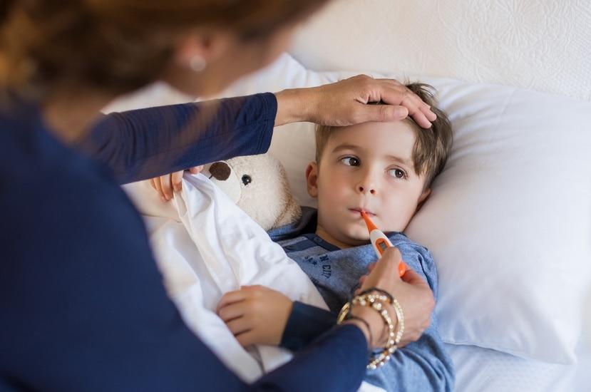 Generalmente, los niños con dengue se deshidratan más rápido.