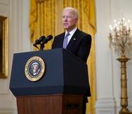 The president Joe Biden.