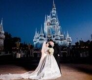 """Una opción de boda al aire libre en Orlando,  es """"Disney Fairy Tale Weddings"""" o Bodas de cuentos de hadas."""