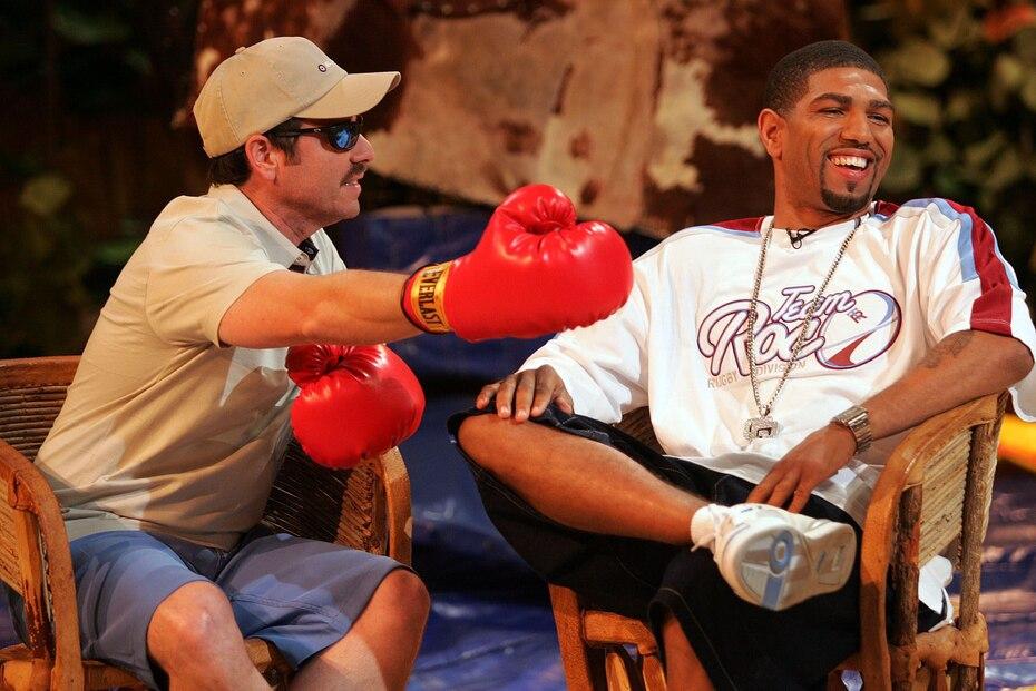 """El boxeador Ronald """"Winky"""" Wright fue uno de los invitados en junio de 2005 luego de derrotar a Trinidad el 14 de mayo de ese año. (GFR Media)"""