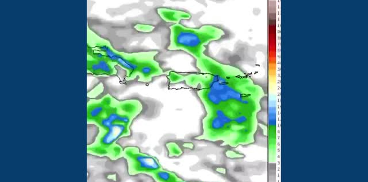 Deborah Martorell detalla los fuertes aguaceros para hoy por el paso de una onda tropical