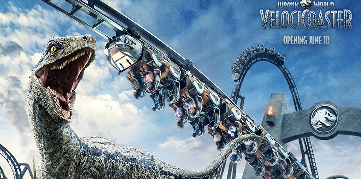 La montaña rusa de Jurassic World estrena en Islands of Adventure en junio