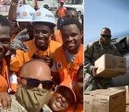 El coronel Agosto es el comandante de la Fuerza de Tarea que salió de Puerto Rico a Haití.