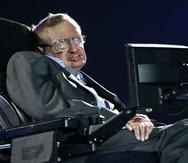 En la foto el físico británico Stephen Hawking. (AP)