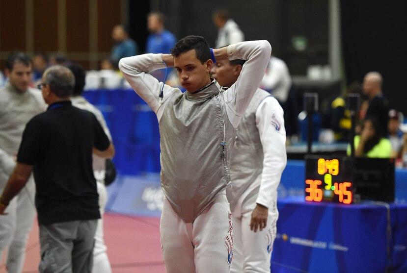 El equipo era la mayor esperanza de medalla para la esgrima boricua y estuvo cerca de colgarse una medalla.