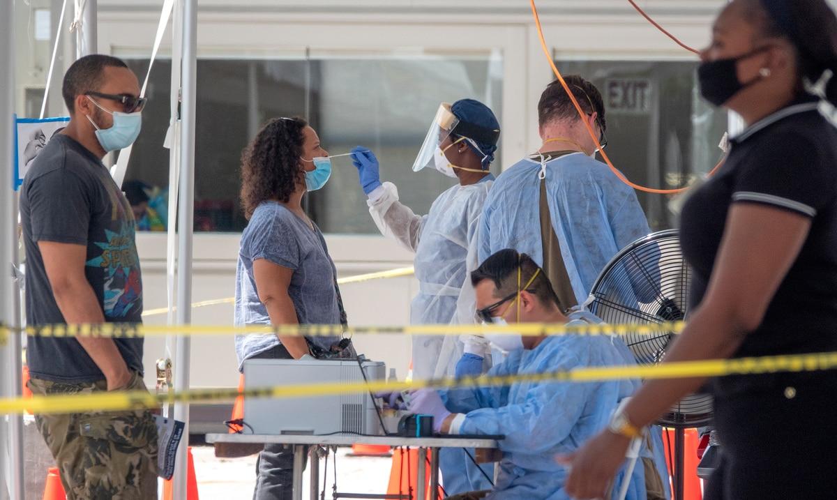 Estados Unidos se acerca a los siete millones de contagiados por el coronavirus