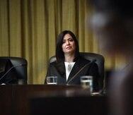 Puerto Rico Supreme Court Chief Justice Maite Oronoz Rodríguez