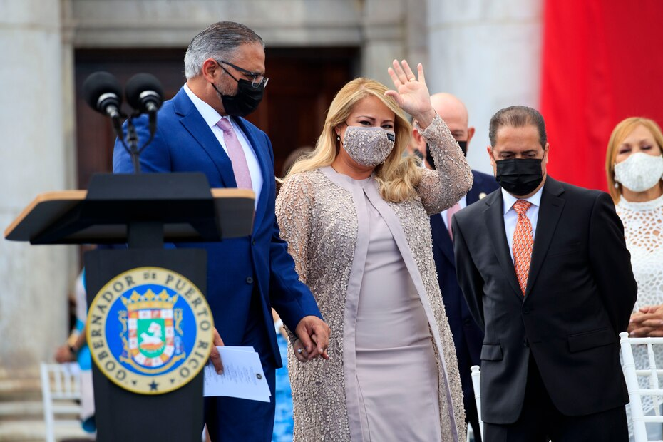 Vázquez Garced juramentó como gobernadora de Puerto Rico en agosto de 2019 tras la renuncia de Ricardo Rosselló Nevares al cargo.