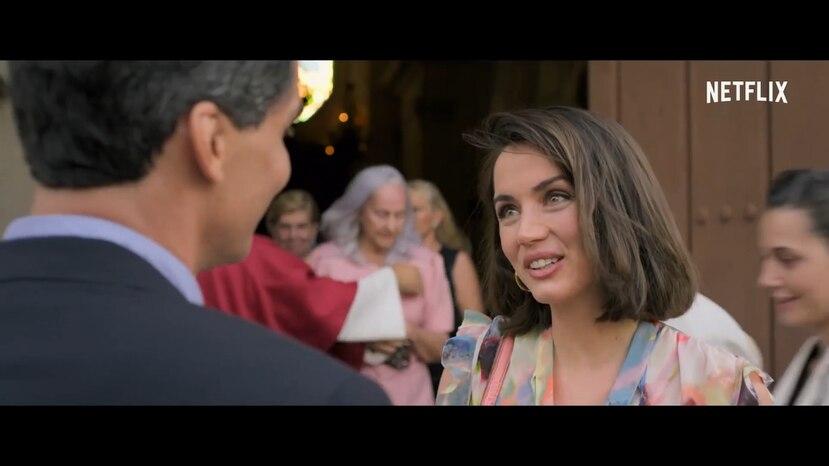 """En la película """"The Wasp Network"""", la actriz Ana de Armas interpreta el supuesto personaje de Ana Margarita Martínez, quien está demandando a Netflix por difamación."""