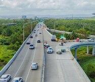 Puente sobre el Caño Martín Peña en dirección a Bayamón.