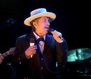 Bob Dylan ganó el premio Nobel de Literatura en 2016.