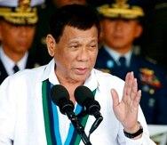 Duterte llamó al pueblo filipino a denunciar cualquier acto de corrupción o abuso en el que pudieran estar involucrados funcionarios públicos. (EFE)