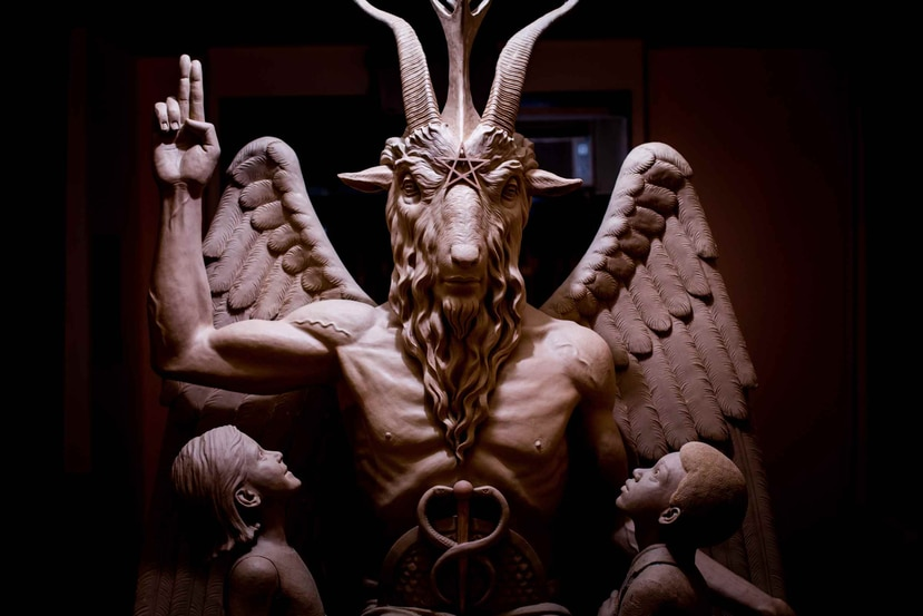 El Templo Satánico indicó que quiere ponerla afuera del parlamento de Arkansas.