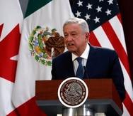El presidente de México, Andres Manuel López Obrador.