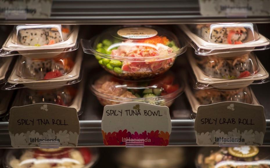 A la oferta de poke bowls se le sumará una amplia variedad de sushis confeccionados a diario.