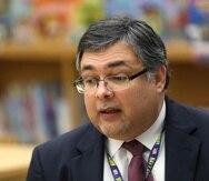 Kelvin Soto, presidente de la Junta Escolar del Condado de Osceola.