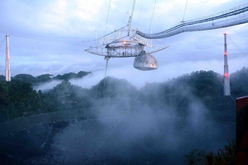 El Observatorio de Arecibo se construyó entre 1960 y 1963. (GFR Media)