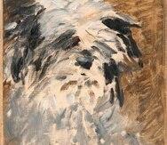 El cuadro, titulado Minnay, fue pintado por Édouard Manet hacia 1879.